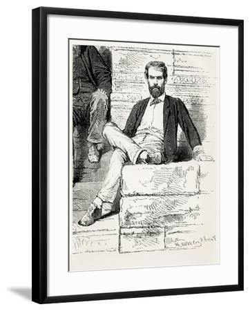 M. Doudart De Lagree, French Expedition to Me-Kong, 1868--Framed Giclee Print