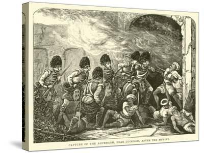 Capture of the Alumbagh, Near Lucknow, after the Mutiny--Stretched Canvas Print