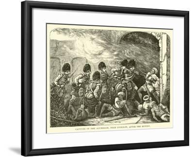 Capture of the Alumbagh, Near Lucknow, after the Mutiny--Framed Giclee Print