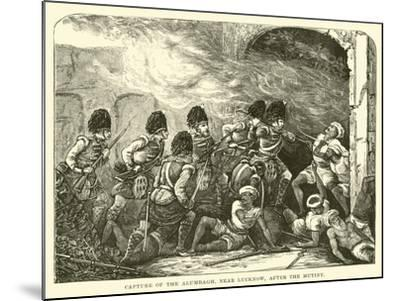 Capture of the Alumbagh, Near Lucknow, after the Mutiny--Mounted Giclee Print