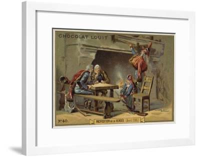 Pacification of the Vendee, French Revolution, April 1795--Framed Giclee Print