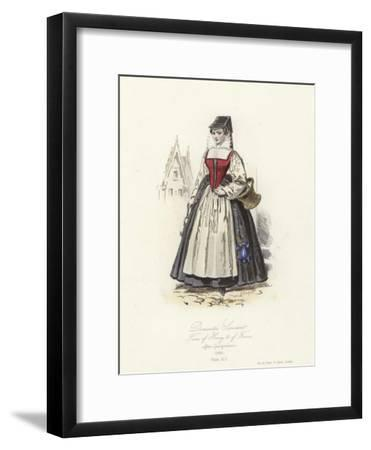Domestic Servant of the Time of Henry III of France--Framed Giclee Print