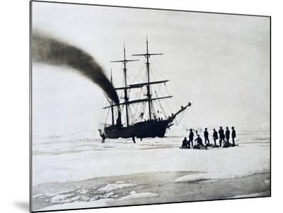Expedition to North Pole by Count Johann Nepomuk Wilczek--Mounted Giclee Print