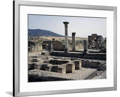 House of Labours of Hercules with Triumphal Arch in Honour of Caracalla--Framed Giclee Print
