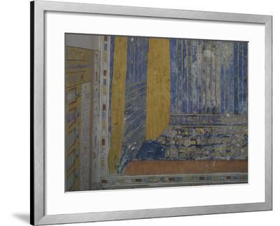 Egypt, Thebes, Luxor, Valley of the Kings, Tomb of Ramses IV--Framed Giclee Print