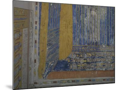 Egypt, Thebes, Luxor, Valley of the Kings, Tomb of Ramses IV--Mounted Giclee Print