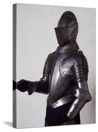 Engraved and Gilded Armor, Work by Armourer Pompeo Della Cesa--Stretched Canvas Print