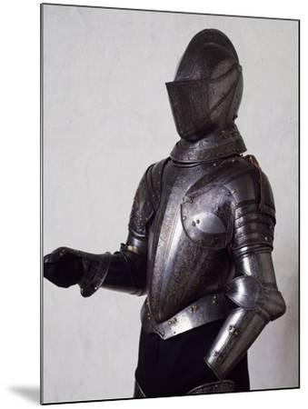 Engraved and Gilded Armor, Work by Armourer Pompeo Della Cesa--Mounted Giclee Print