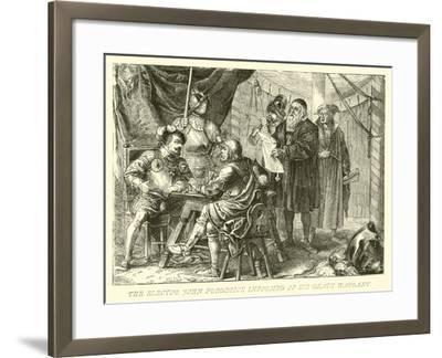 The Elector John Frederick Informed of His Death Warrant--Framed Giclee Print