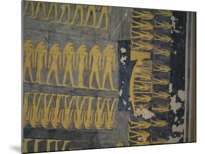 Egypt, Thebes, Luxor, Valley of the Kings, Tomb of Ramses IX--Mounted Giclee Print