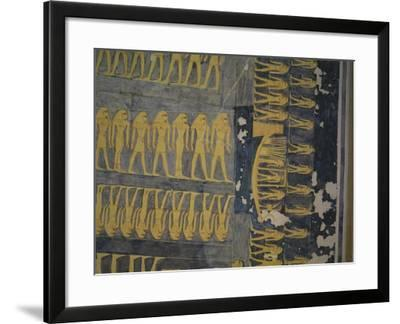 Egypt, Thebes, Luxor, Valley of the Kings, Tomb of Ramses IX--Framed Giclee Print