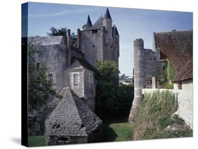 Caponiere, Defensive Position Which Rises Above Moat, Castle of Bridore--Stretched Canvas Print