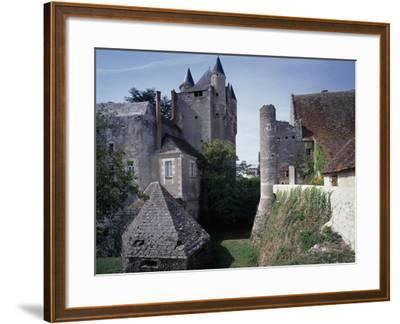 Caponiere, Defensive Position Which Rises Above Moat, Castle of Bridore--Framed Giclee Print