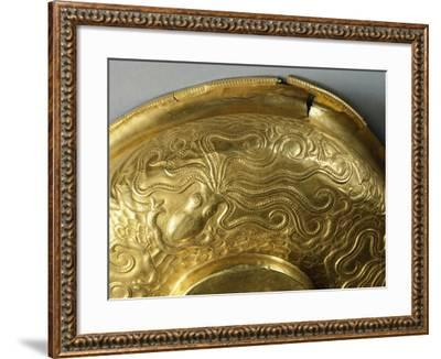 Gold Cup with Embossed Decoration, from Tholos of Dendra, Near Midea--Framed Giclee Print
