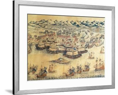 Menorca Occupied by the British During the Seven Years' War--Framed Giclee Print