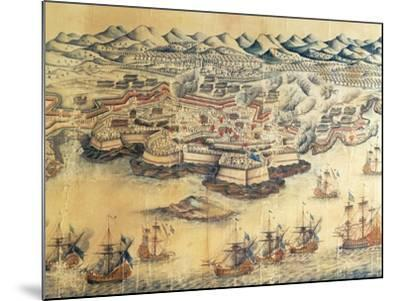Menorca Occupied by the British During the Seven Years' War--Mounted Giclee Print