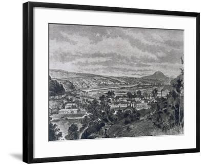 View of Nelahozeves, Birthplace of Composer Antonin Leopold Dvorak--Framed Giclee Print