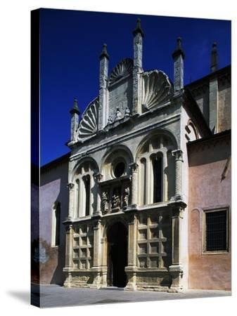 Southern Facade of Shrine of Our Lady of Miracles--Stretched Canvas Print