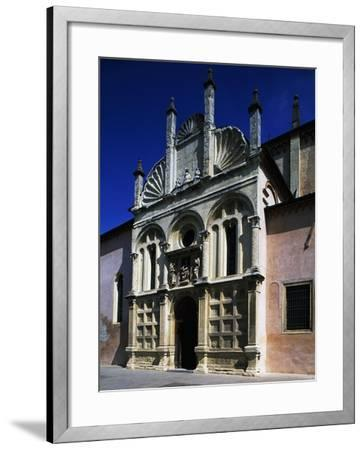 Southern Facade of Shrine of Our Lady of Miracles--Framed Giclee Print