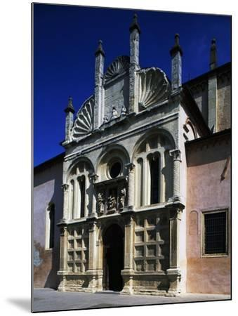 Southern Facade of Shrine of Our Lady of Miracles--Mounted Giclee Print