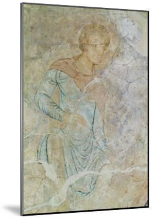 Daniel in Lions' Den, Fresco of Chapter House, Abbey of Cluny--Mounted Giclee Print