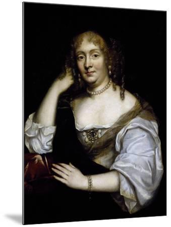 Portrait of Marie De Rabutin-Chantal, Marquise De Sevigne--Mounted Giclee Print