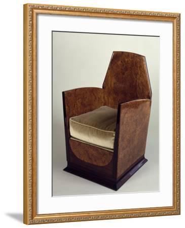 Art Deco Style Armchair, 1930--Framed Giclee Print