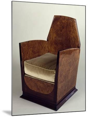 Art Deco Style Armchair, 1930--Mounted Giclee Print