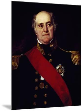 Portrait of Sir Thomas Masterman Hardy, Vice-Admiral of Blue--Mounted Giclee Print