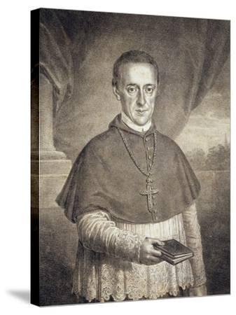 Portrait of Count Leopold Anton Eleutherius Von Firmian--Stretched Canvas Print