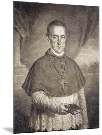 Portrait of Count Leopold Anton Eleutherius Von Firmian--Mounted Giclee Print