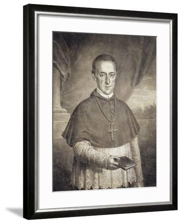 Portrait of Count Leopold Anton Eleutherius Von Firmian--Framed Giclee Print