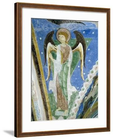 Angel Figure, Fresco, Crypt of Monte Maria Abbey, Near Mals--Framed Giclee Print