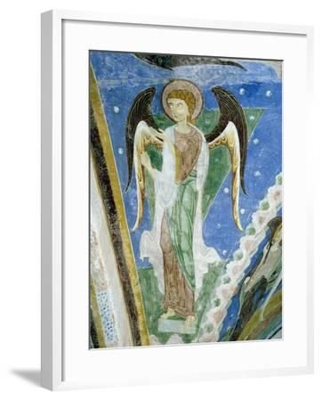 Angel Figure, Fresco, Crypt of Monte Maria Abbey, Near Mals--Framed Giclee Print