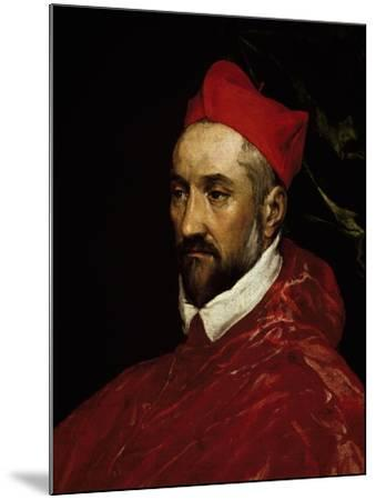 Portrait of Charles De Guise, Cardinal of Lorraine--Mounted Giclee Print