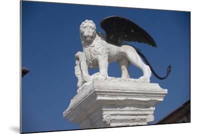 Statue in the Piazza Degli Scacchi, Marostica, Veneto, Italy--Mounted Photographic Print