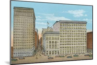 Marshall Field and Company, Retail Stores, Wabash and Washington--Mounted Photographic Print