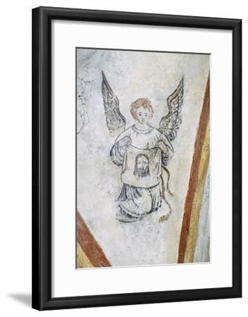 Detail from Vault Chapel with Angel and Symbol of Passion, La Vigne Castle--Framed Giclee Print