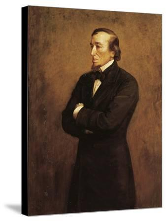 Portrait of Benjamin Disraeli, I Count of Beaconsfield--Stretched Canvas Print