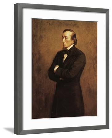 Portrait of Benjamin Disraeli, I Count of Beaconsfield--Framed Giclee Print