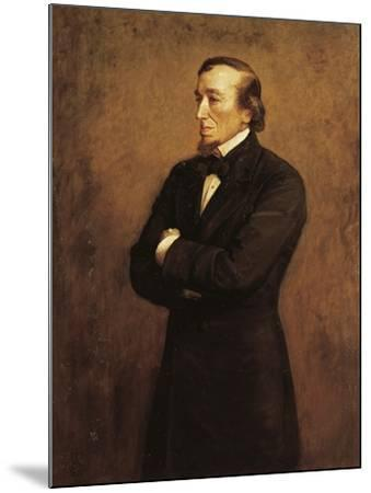 Portrait of Benjamin Disraeli, I Count of Beaconsfield--Mounted Giclee Print