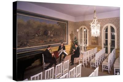 Interior of Villa Bertramka, Prague, Czech Republic--Stretched Canvas Print