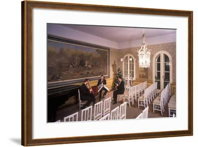 Interior of Villa Bertramka, Prague, Czech Republic--Framed Photographic Print