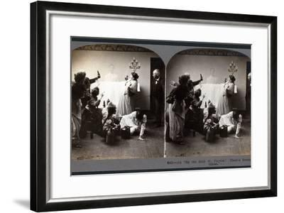 """""""By the Holy St. Patrick! There's Brannigan's Ghost""""--Framed Photographic Print"""