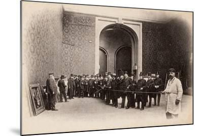 The Rope at the Salon Des Artistes Français, May 1903--Mounted Photographic Print