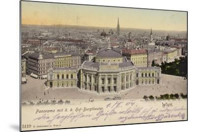 Postcard Depicting a General View of the City of Vienna--Mounted Photographic Print
