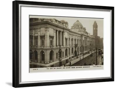 The New Art Gallery and Council House Extension, Birmingham--Framed Photographic Print