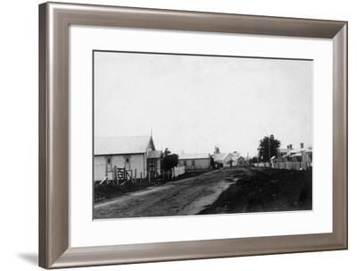 Waipu Congregational Church and Presbyterian Church--Framed Photographic Print