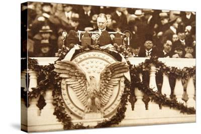 Frank Billings Kellogg, U.S. Ambassador to Great Britain 1923-25--Stretched Canvas Print