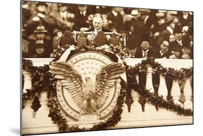 Frank Billings Kellogg, U.S. Ambassador to Great Britain 1923-25--Mounted Photographic Print